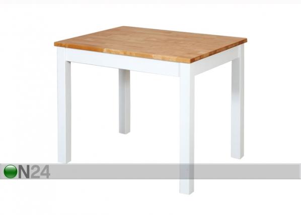 Ruokapöytä, koivu 70x90 cm