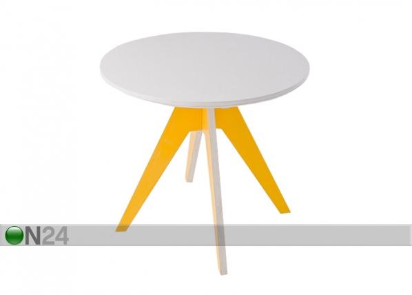 Ruokapöytä EDI Ø 85 cm