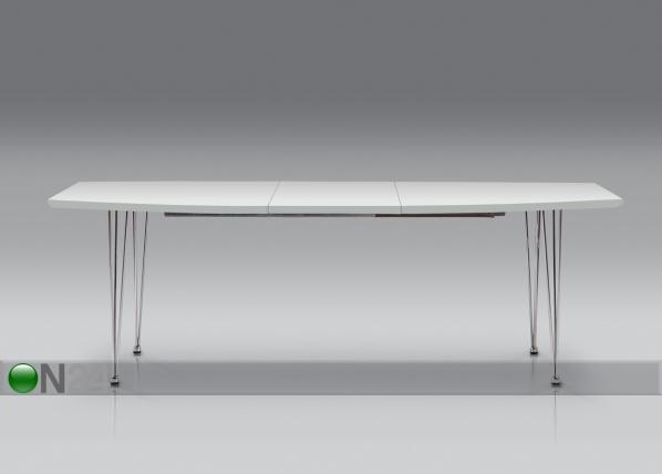 Jatkettava ruokapöytä KASA 100x170-270 cm