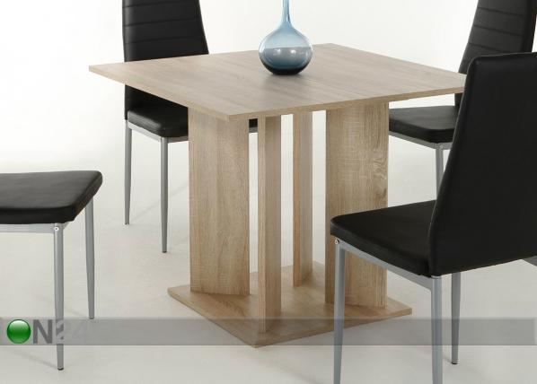 Jatkettava ruokapöytä CORA 89x90-128 cm