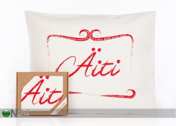 Tyynyliina ÄITI 50x60 cm