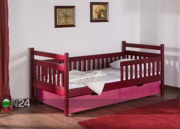Lasten sänkysarja ALISSA, mänty 80x180 cm