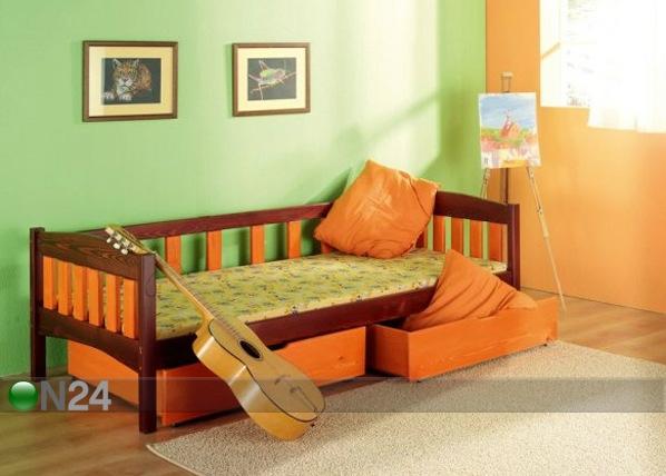 Lasten sänkysarja SUSANNA, mänty 80x180 cm