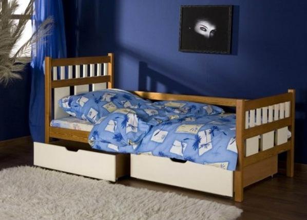 Lasten sänkysarja LUISA, mänty 80x180 cm