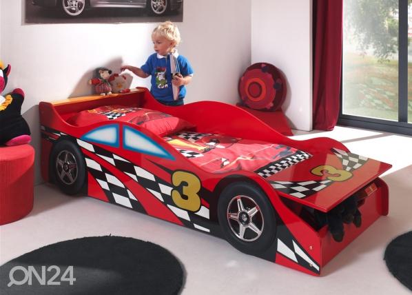 Sänky RACE CAR 70x140 cm