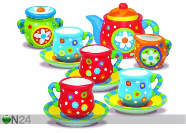 Teeastiaston maalauspakkaus