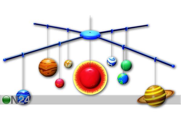 3D aurinkokunnan valmistuspakkaus