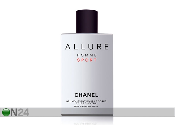 Chanel Allure Sport suihkugeelil 200ml