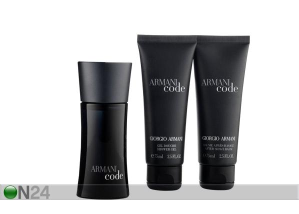 Giorgio Armani Black Code pakkaus