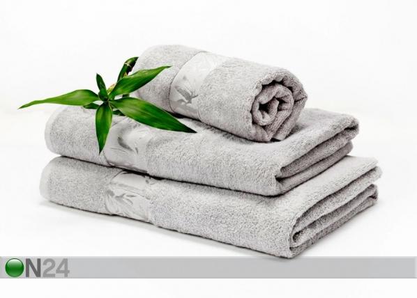 Bambu pyyhkeet harmaa