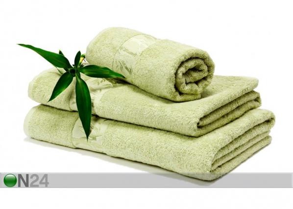 Bambu pyyhkeet oliivi