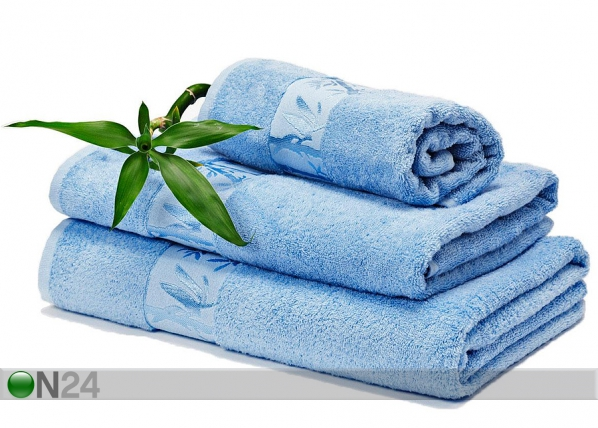 Bambu pyyhkeet sininen