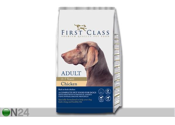 Kuivamuona FIRST CLASS kananliha täyskasvaneelle koiralle