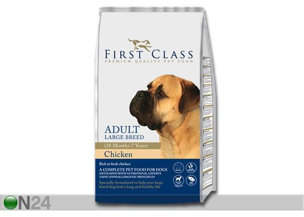 Kuivamuona FIRST CLASS kananliha suurikokoiselle koiralle