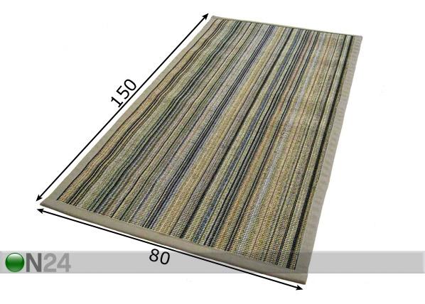 Matto SISAL 80×150 cm NA 60721  ON24 Sisustustavaratalo