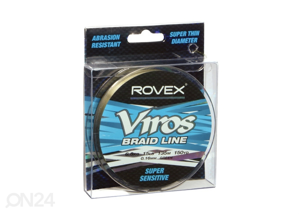 Kalastussiima ROVEX VIROS 0,12 mm, 135 m