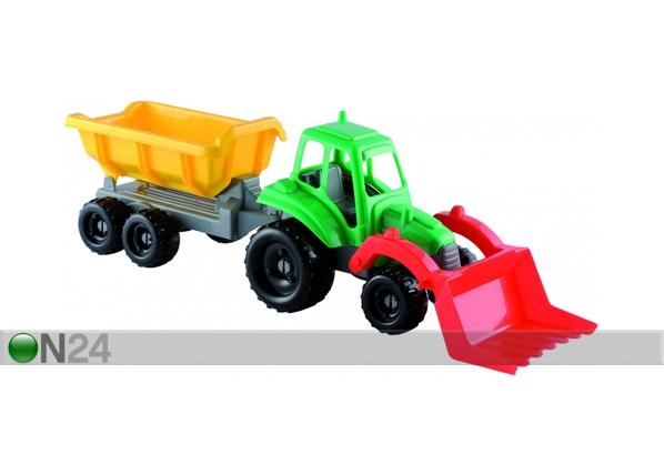 Pikku traktori ja peräkärry ECOIFFIER