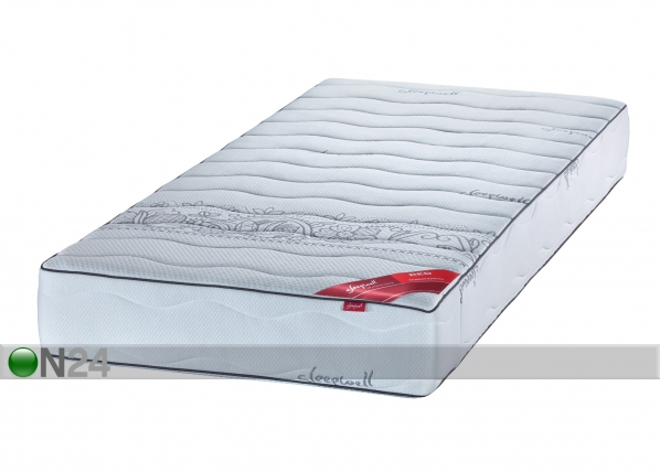 SLEEPWELL joustinpatja RED POCKET ETNO SW-63308