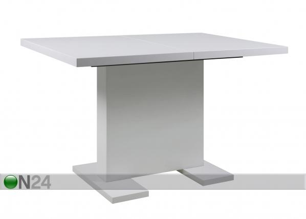 Jatkettava ruokapöytä GUST 80x120-160 cm