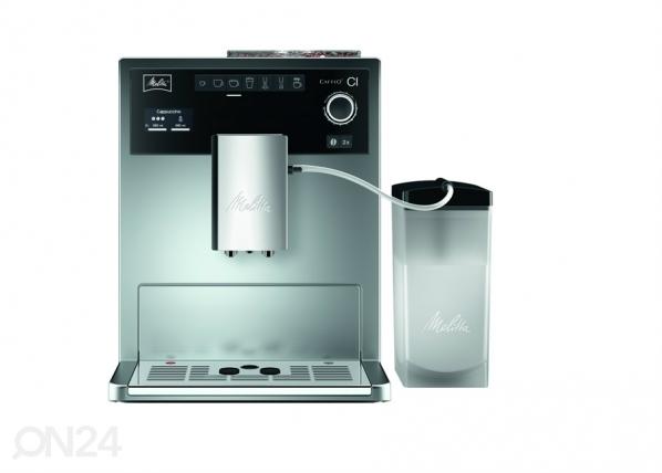 Kahvinkeitin MELITTA CAFFEO CI hopea