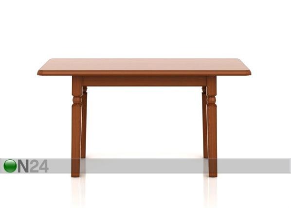 Jatkettava ruokapöytä 140-180 cm