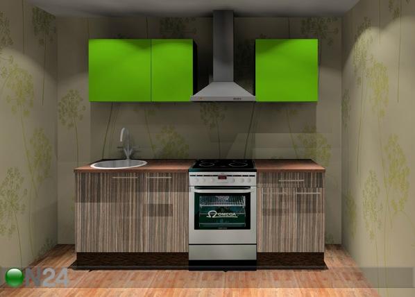 Baltest keittiö Kaisa 1 Mini 160 cm