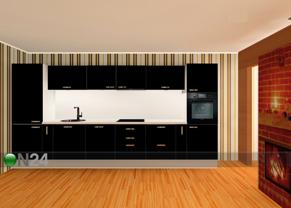 Baltest keittiö 400 cm
