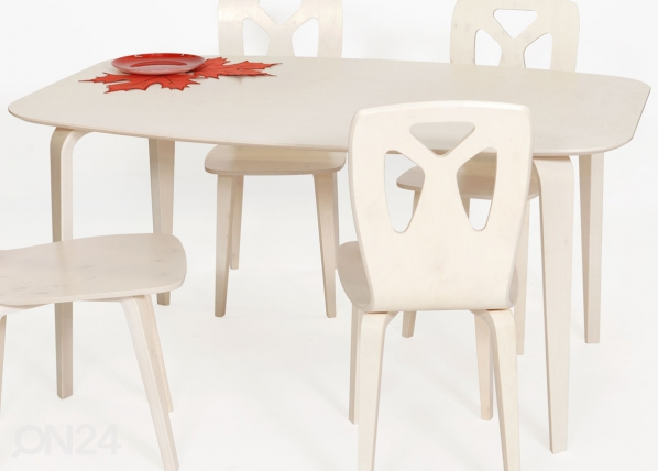 Ruokapöytä KARJALA 95x150 cm
