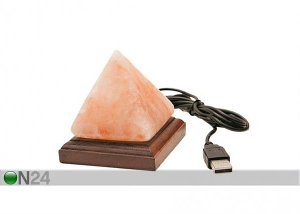 Suolalamppu mini; pyramidi