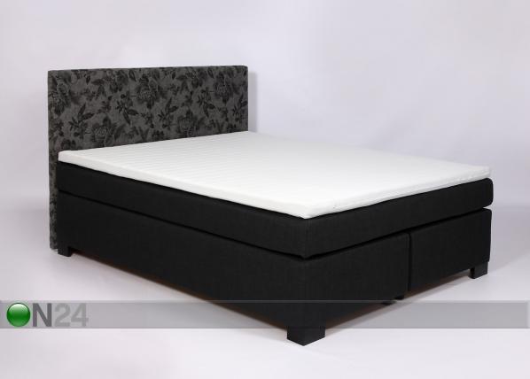 Jenkkisänkysarja POCKET LUXUS 160x200 cm+ sängynpääty