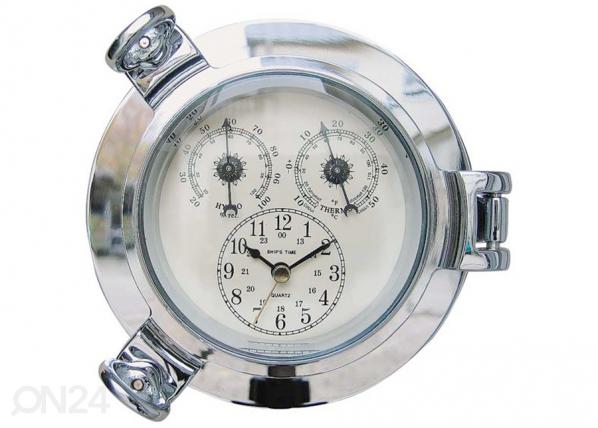 Kello termometrillä ja hydrometrillä