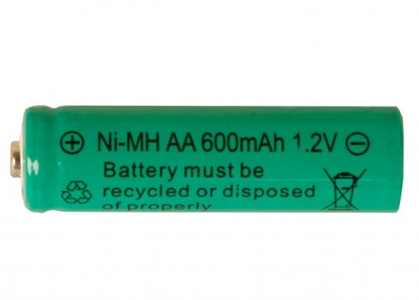 Aurinkoenergialla ladattava Ni-MH akku AA 1,2 V