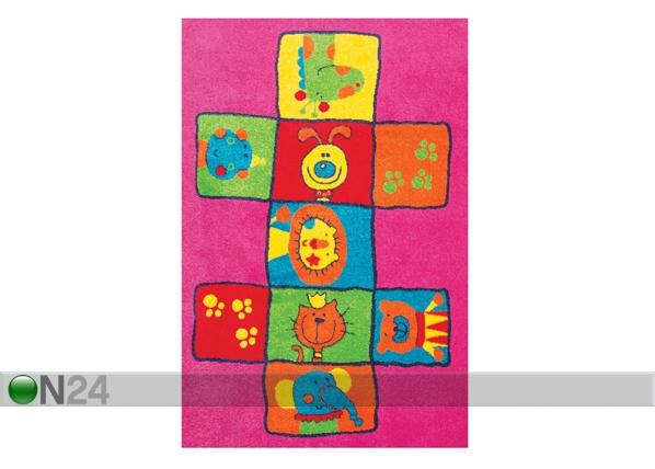 Lasten matto LEIKKI 120x170 cm