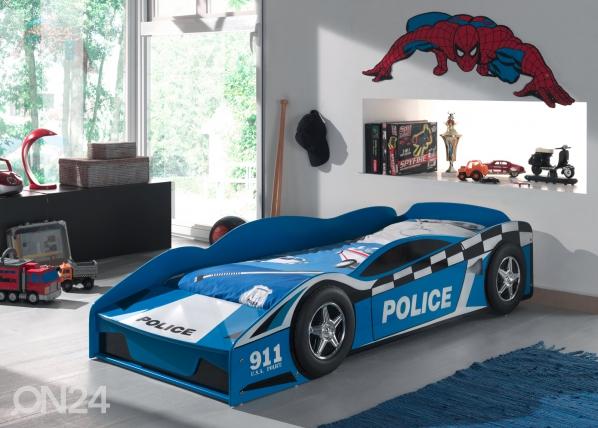 Sänky POLICE CAR 70x140 cm