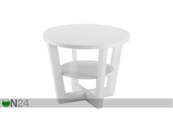 Sohvapöytä MARI, koivu Ø 57 cm