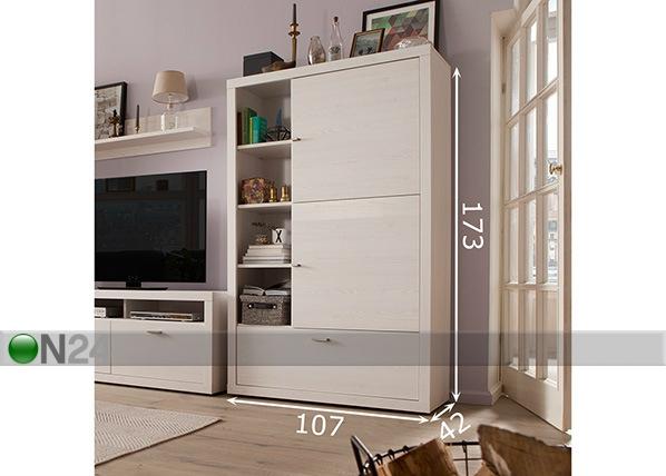 kaappihyllyst tio you sm 75689 on24 sisustustavaratalo. Black Bedroom Furniture Sets. Home Design Ideas