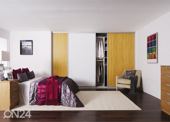 Liukuovet Prestige, 3- melamiiniovea 250-300x255 cm