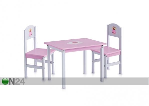 Lasten pöytä ja tuolit PRINCESS
