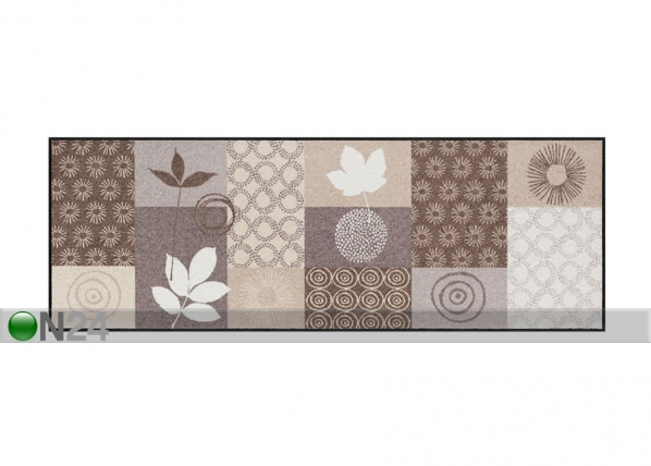 Matto AUTUMN LEAVES 60x180 cm A5-77494
