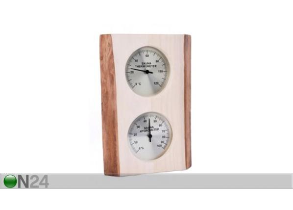 Saunan lämpö- ja kosteusmittari