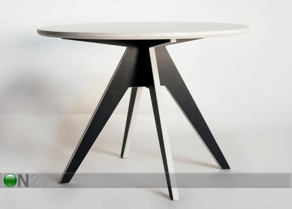 Ruokapöytä EDI Ø 125 cm