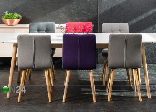 Ruokapöytä NAGANO 90×180 cm