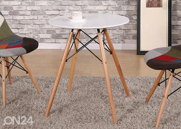 Ruokapöytä MACY Ø 60 cm