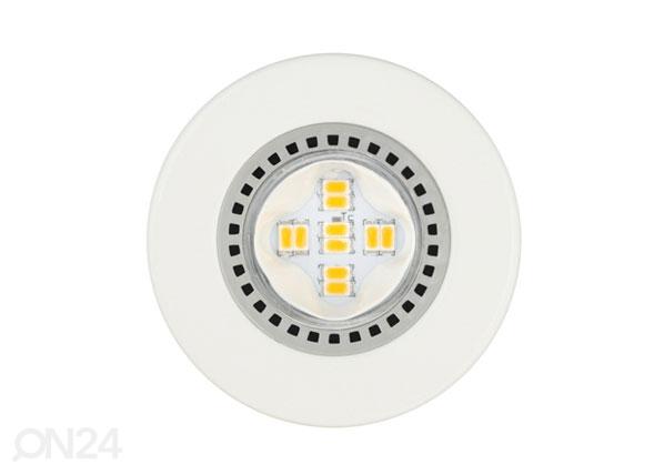 Integroitu LED upotettava riippuvalaisinsarja 3-osainen