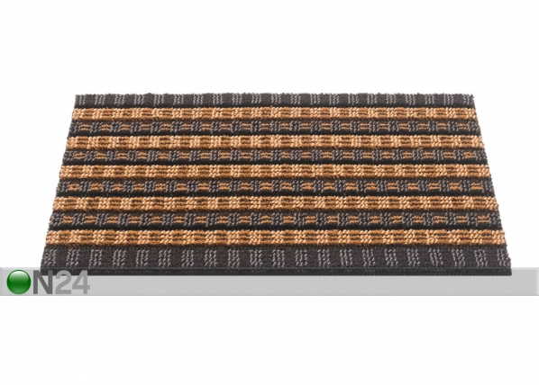 Harjasmatto QUADRO SCRAPE 40x60 cm