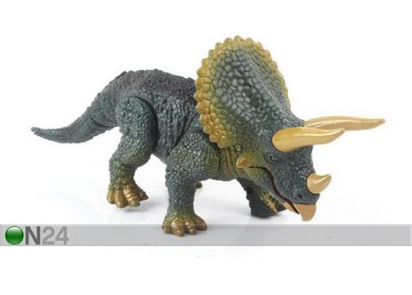 Dinosaurus TRICERATOPS + kaukosäädin