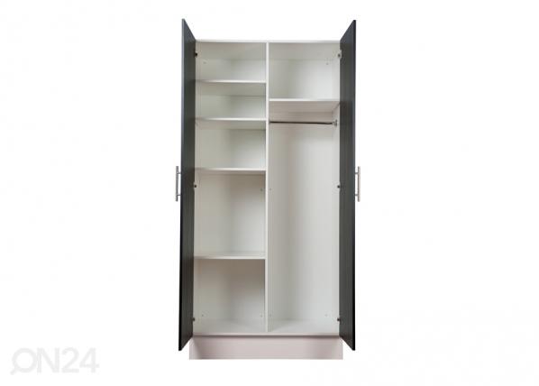 EAZY 208x100 cm väliseinä+ 4 hyllyä