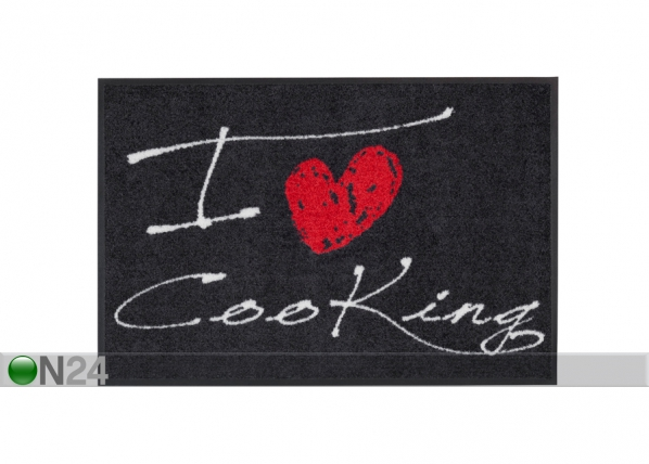 Matto I LOVE COOKING HEART A5-84280