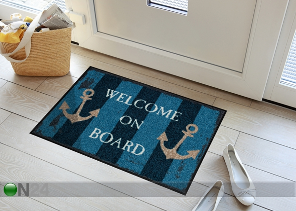 Matto WELCOME ON BOARD 50x75 cm A5-84711
