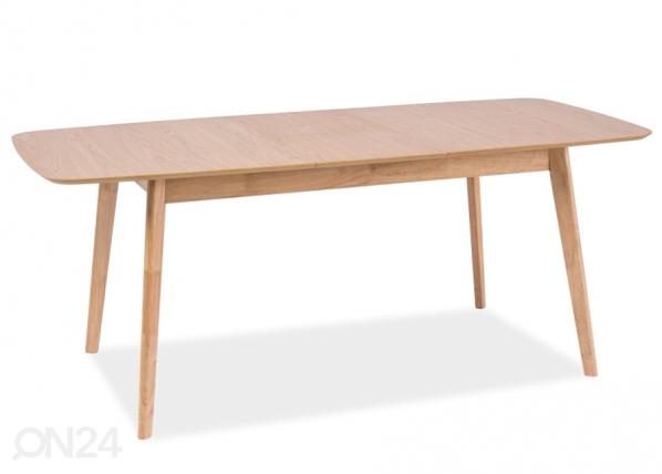Jatkettava ruokapöytä FELICIO 90x150-190 cm